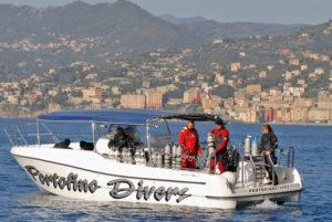 Imbarcazione Portofino Divers