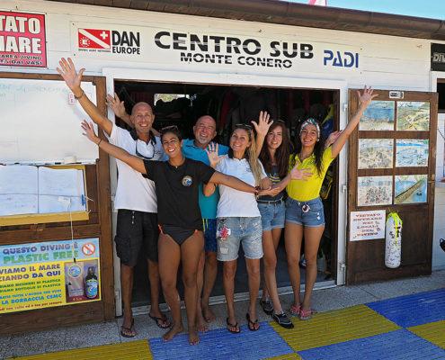 Staff Centro Sub Monte Conero
